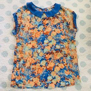 Gibson Latimer size medium floral top